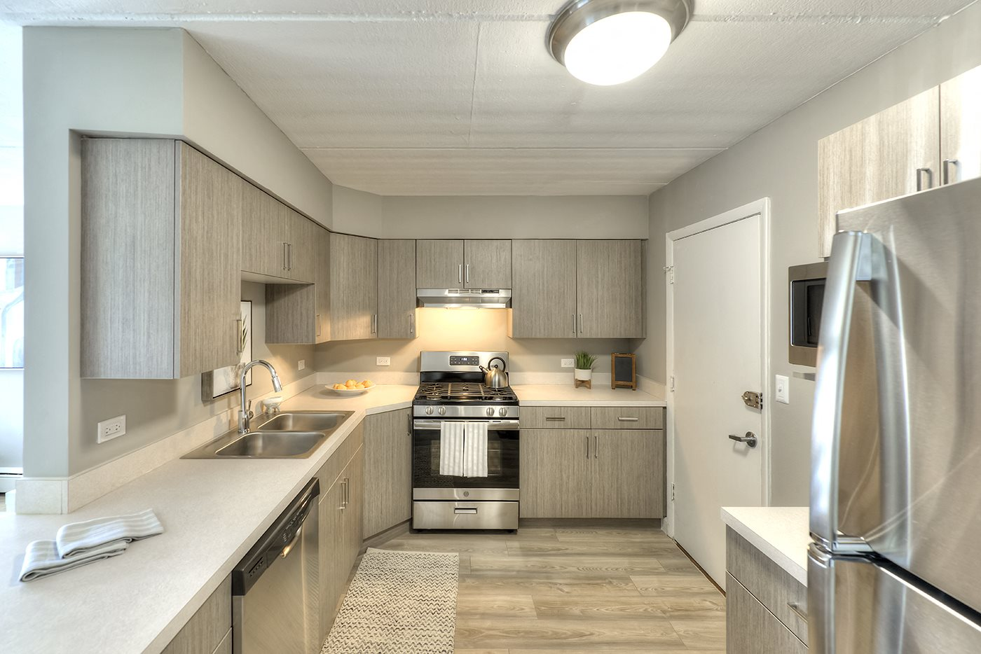Fully Furnished Kitchen With Stainless Steel Appliances, at Axis at Westmont, Westmont, IL 60559