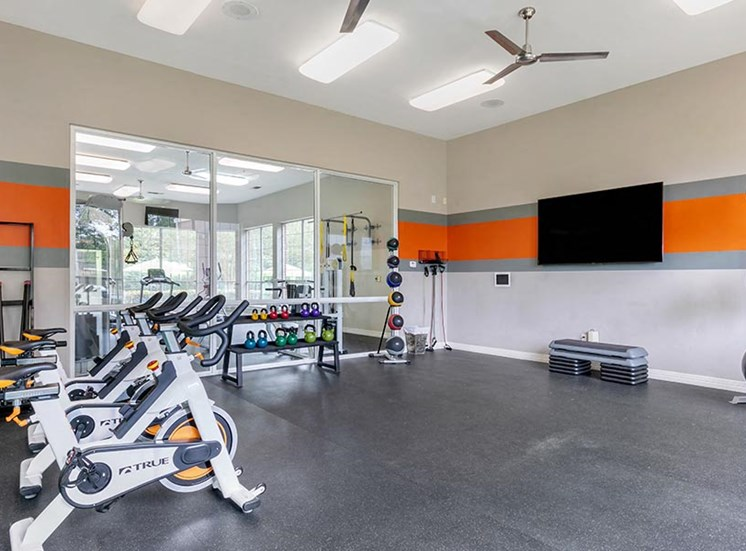 fitness center fully-equipped