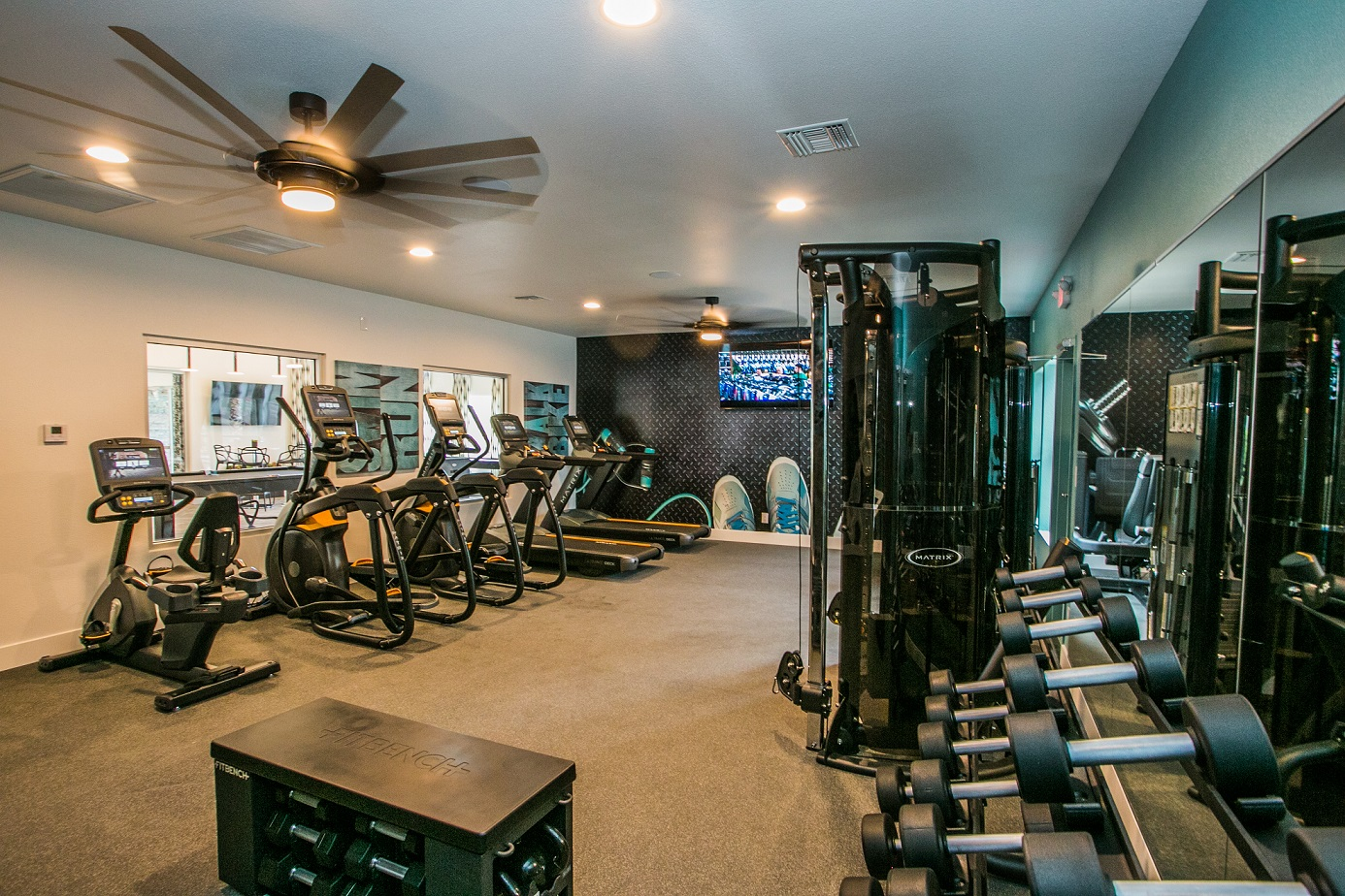 Villa Serena Apartments Fitness Center Henderson, Nevada