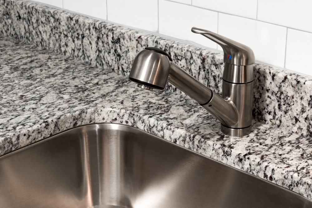 Faucet Over Sink