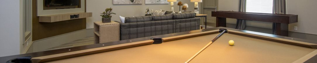 Billiards at Atria Apartments in Tulsa, OK