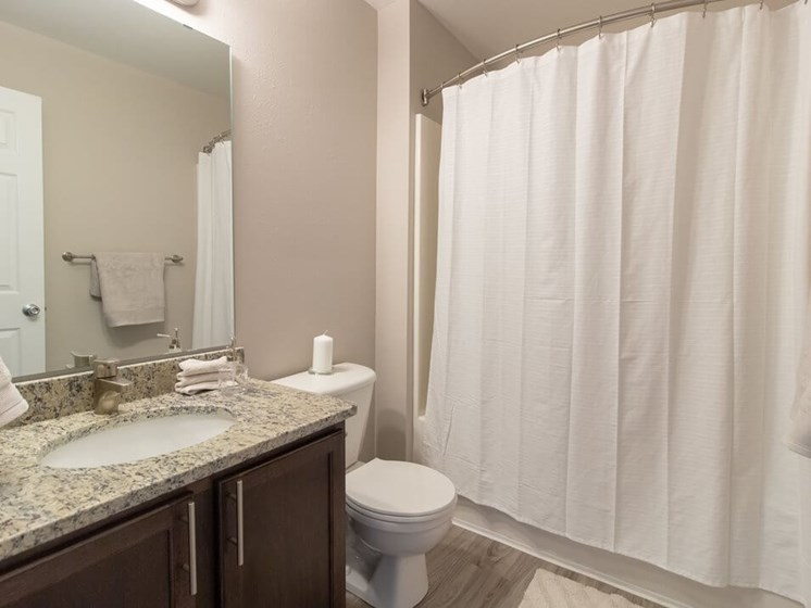 Granite Vanity Tops in Updated Apartments- Fairfield Apartments and Condominiums in Fenton, MI