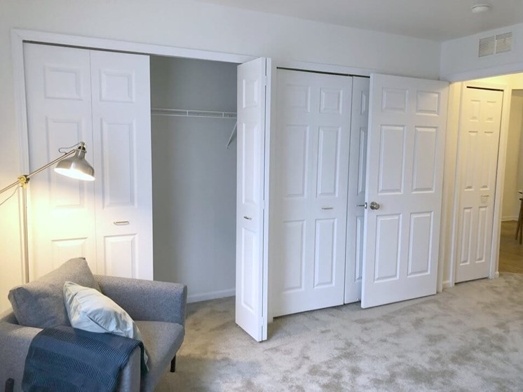 Plentiful Closet Space- Fairfield Apartments and Condominiums in Fenton, MI
