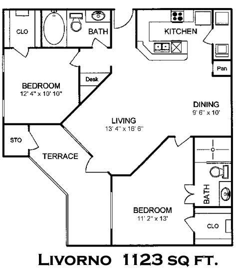 Toscana Apartments: Floor Plans Of Villa Toscana Apartments In Houston, TX