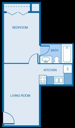 1 Bed 1 Bath Junior