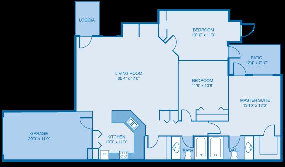 The Lockerbie Floor Plan 6