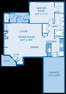 The Berwyck Floor Plan 2