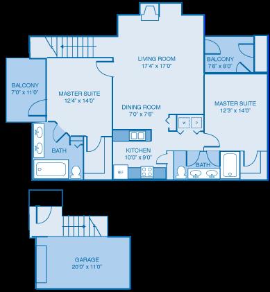The Edinburgh Floor Plan 5