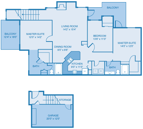 The Stirling Floor Plan 8
