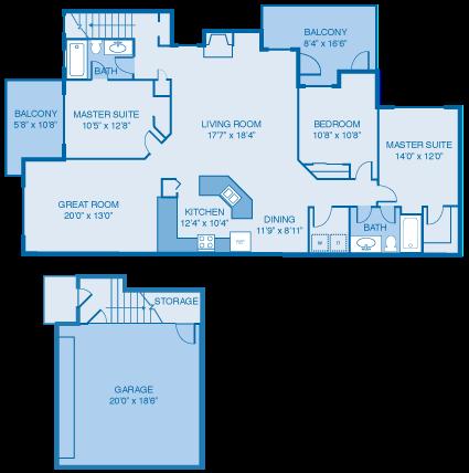 The Sutherland Floor Plan 9