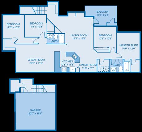 The Newburgh Floor Plan 10