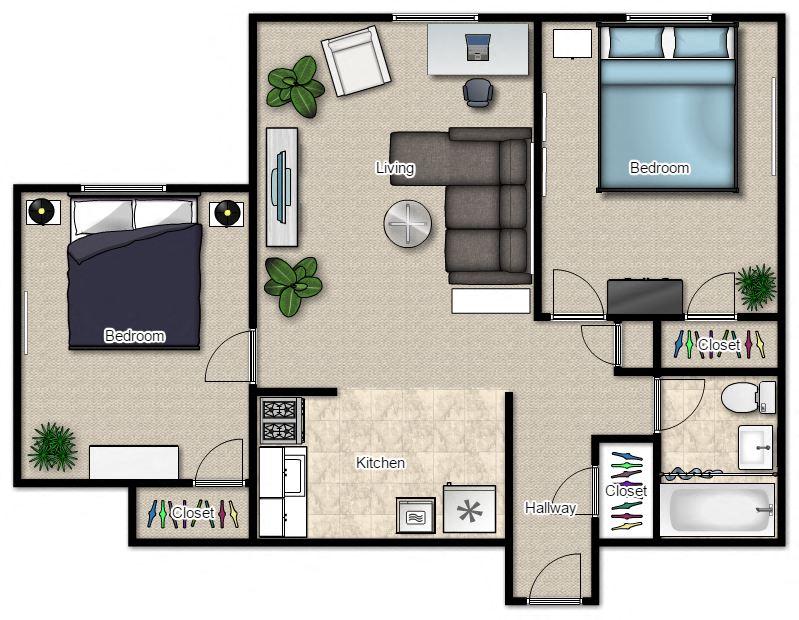 2 Bedroom Apartments In Milwaukee Spacious 2 U0026 3