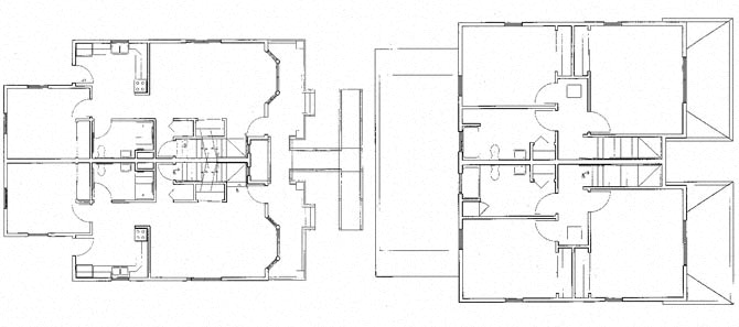 Floor Plans Of Beauchamp Phase I Townhomes In Milwaukee Wi