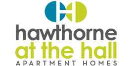 Property Logo and Signage for Hawthorne at the Hall in Rural Hall North Carolina