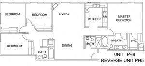4 Beds, 3 Baths