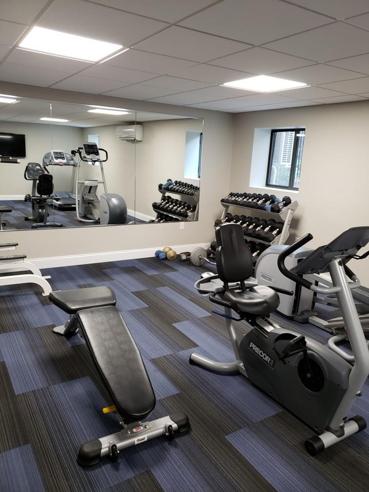 New Fitness Center at Quincy Commons