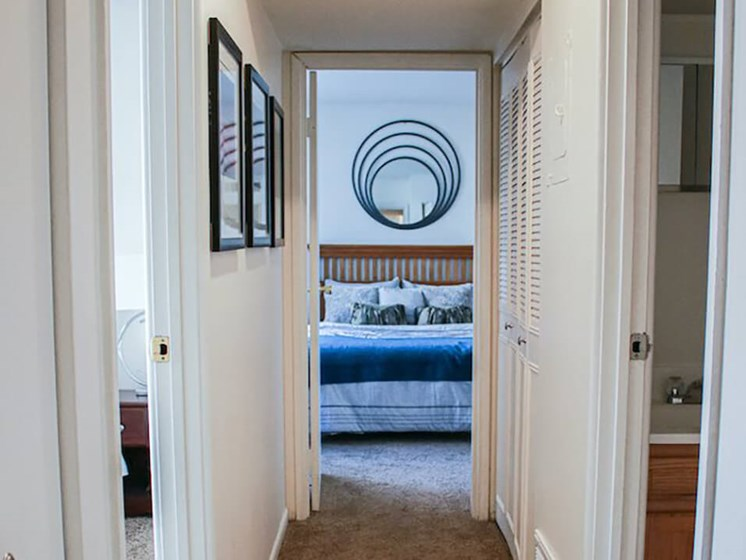 large bedrooms in The Gates of Rochester Apartments