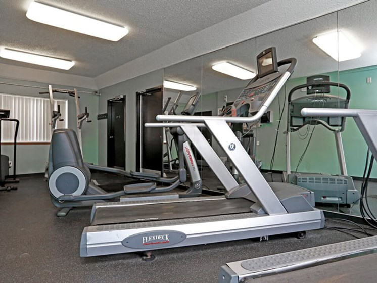 24 hour fitness center at The Gates of Rochester