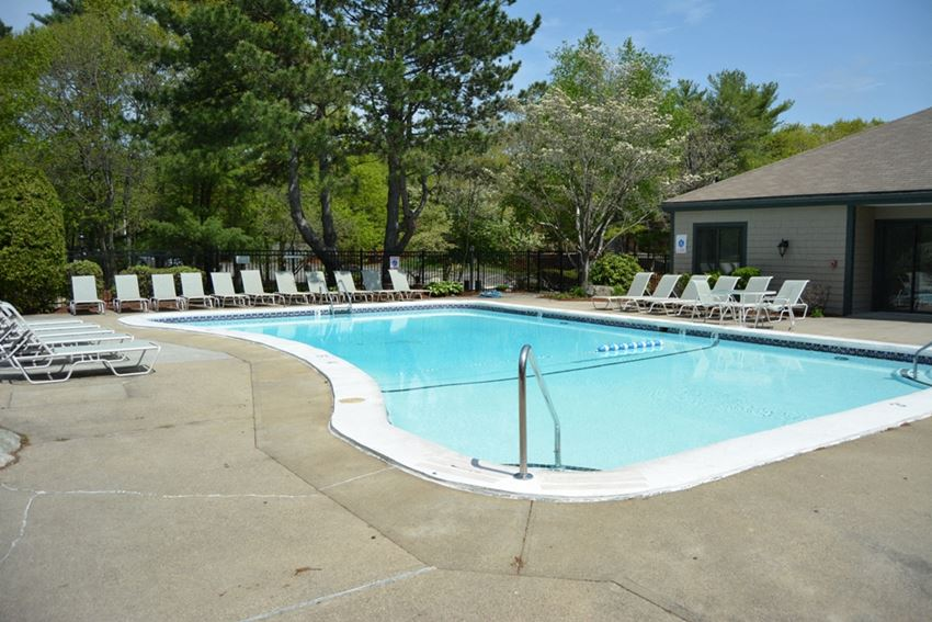 Swimming Pool at Stone Run and Patio Area