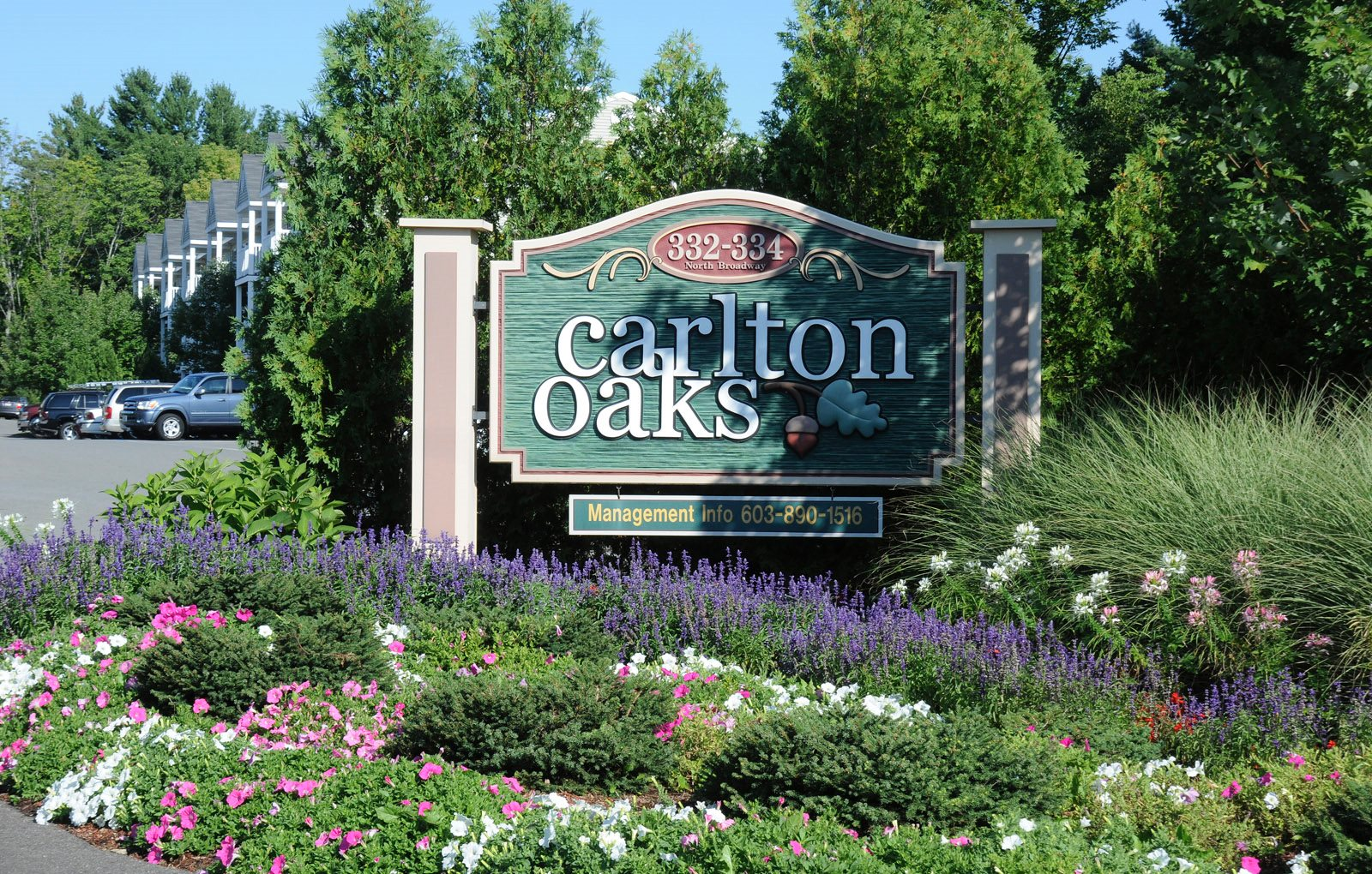 Carlton Oaks Sign