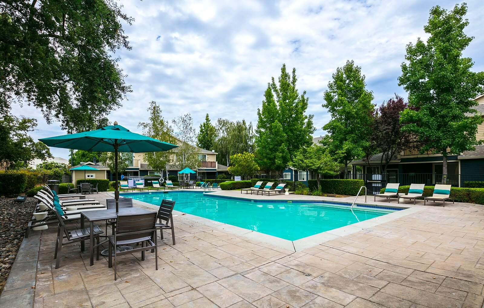 Two pools and two spas at Atwood Apartments, Citrus Heights, CA
