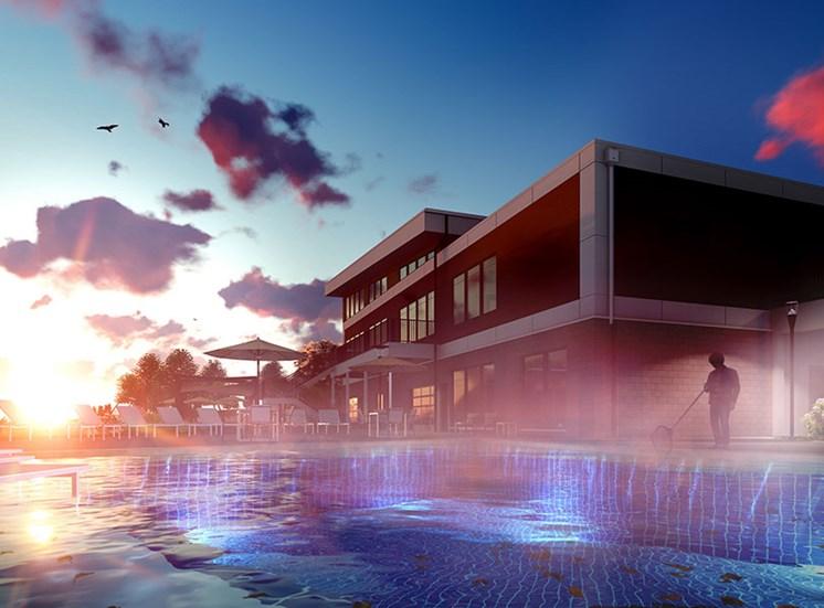 Glimmering Pool at Fusion 355, Colorado