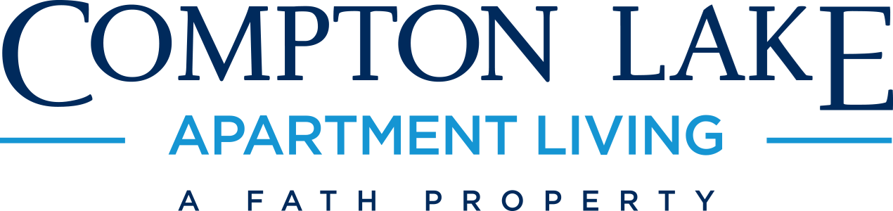 This is the logo of Compton Lake Apartments in Cincinnati, Ohio
