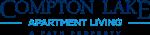 This is the logo of Compton Lake Apartments in Cincinnati, Ohio