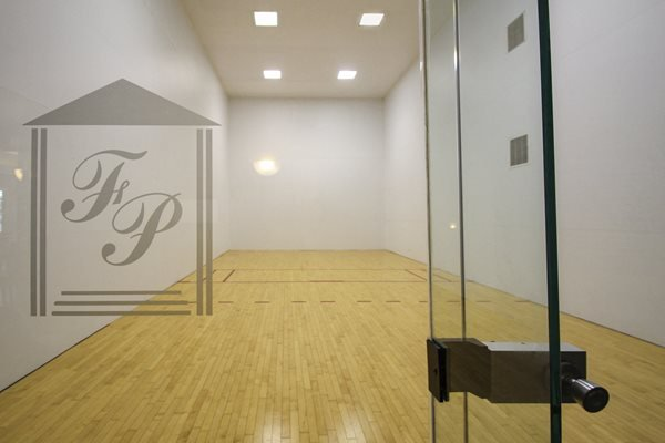 This is the racquetball court at Fairfield Pointe Apartments in Fairfield, OH