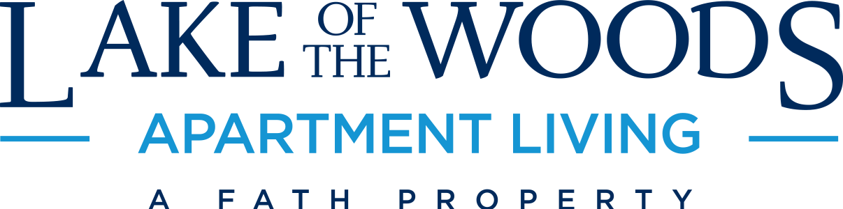 This is the logo of Lake of the Woods Apartments in Mt. Healthy, Ohio
