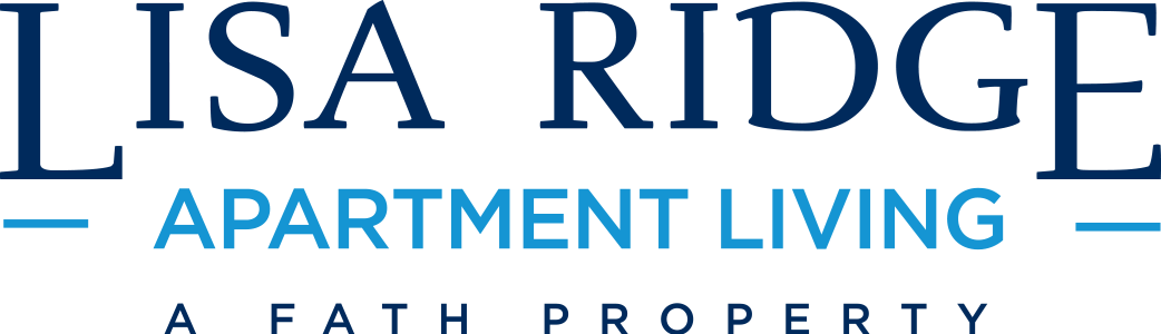 This is the logo of Lisa Ridge Apartments in Cincinnati, Ohio