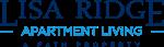 This is the logo of Lisa Ridge Apartments in Cincinnati, Ohio
