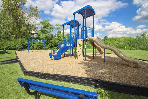 This is the playground at Lisa Ridge Apartments in Cincinnati, OH