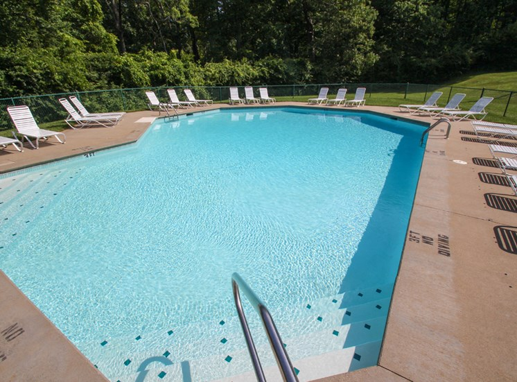 This is a photo of the swimming pool at Montana Valley Apartments in Cincinnati, OH