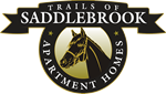 This is the logo of Trails of Saddlebrook Apartments in Florence, Kentucky