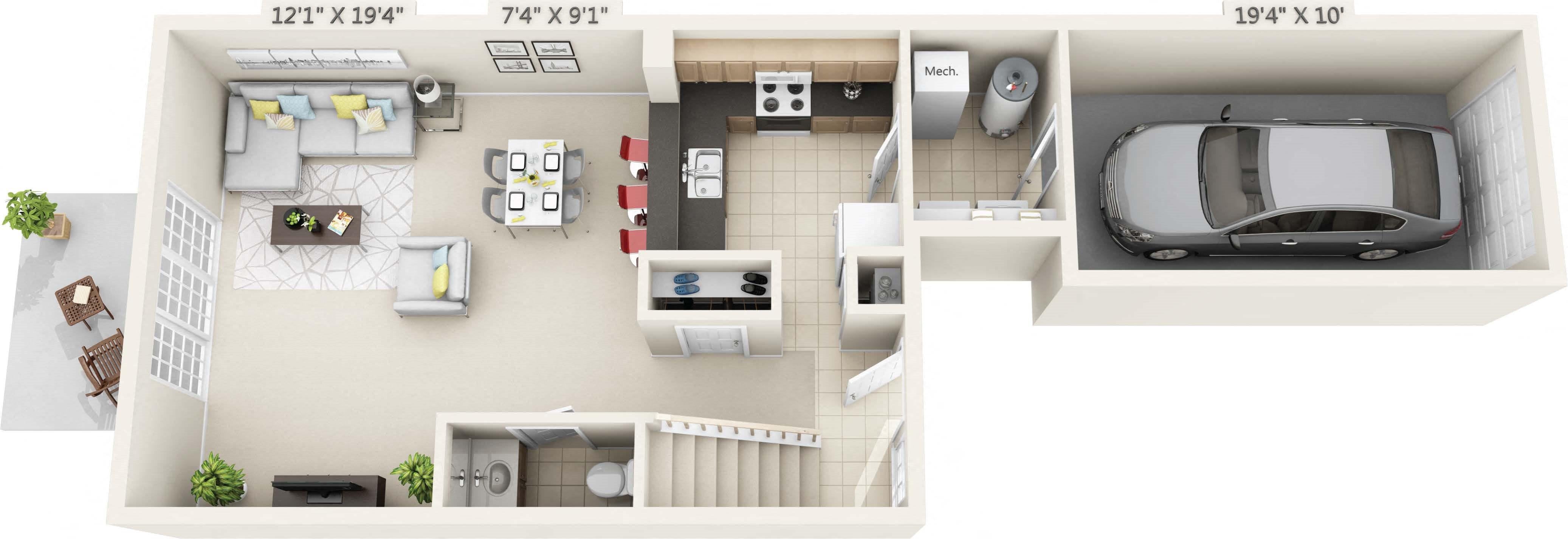 Oakwood Floor Plan 4