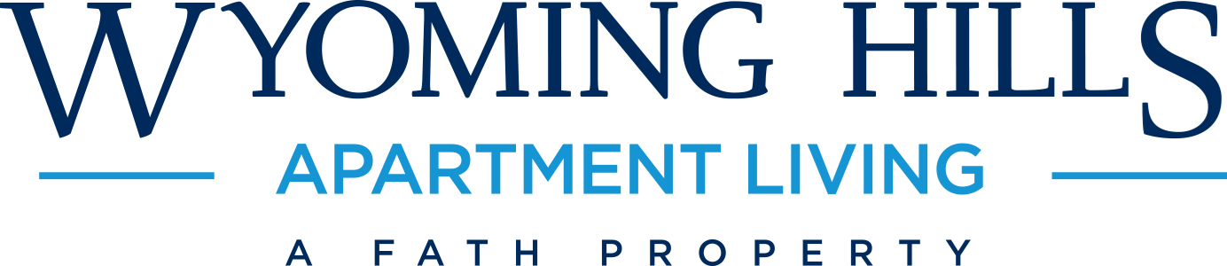 This is the logo of Wyoming Hills Apartments in Dayton, Ohio