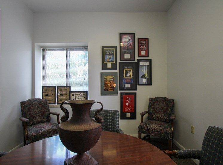 This is the Leasing Office at Wyoming Hills Apartments in Dayton, OH.