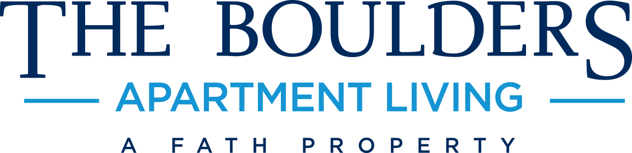 The Boulders Apartments in Garland, Texas Logo