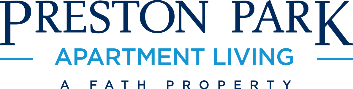 This is the logo of Preston Park Apartments in Dallas, Texas
