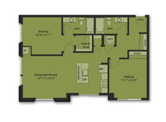 Two Bedroom E3