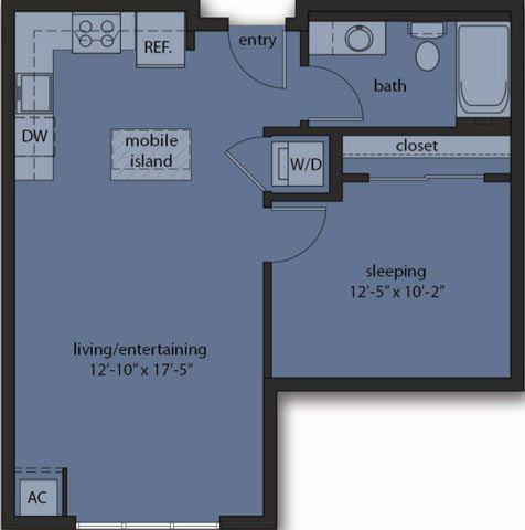 One Bedroom B4