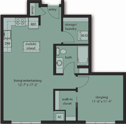 One Bedroom C10