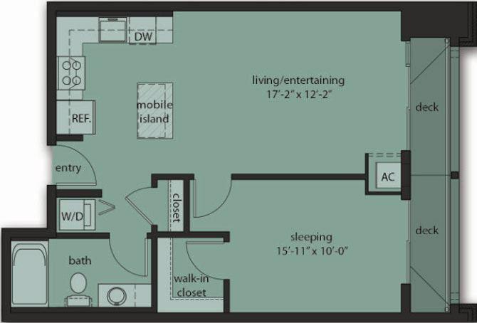 One Bedroom C11
