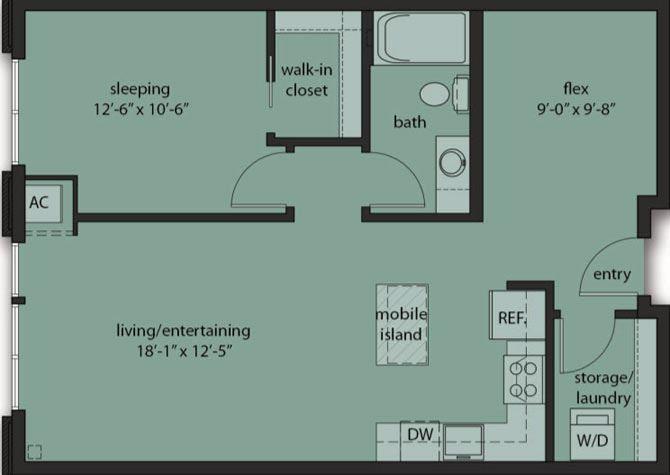 One Bedroom Den C1