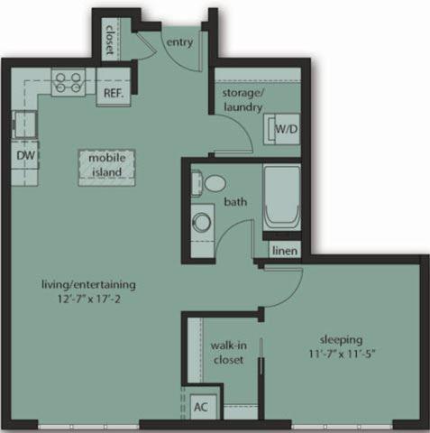One Bedroom C5