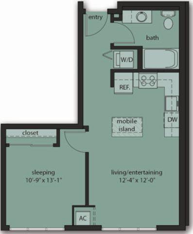 One Bedroom C7