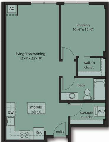 One Bedroom C8