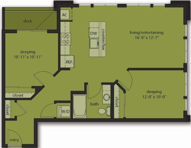 Two Bedroom C9