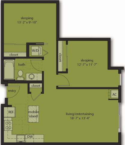 Two Bedroom D2